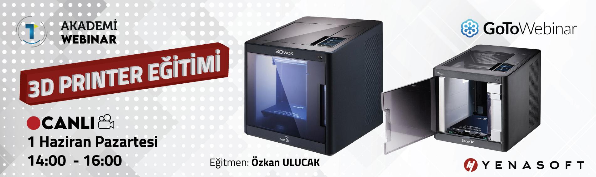 3D Printer Eğitimi 1 Haziran