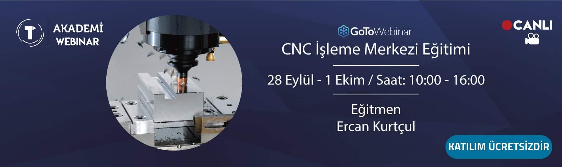 CNC İşleme Merkezi Eğitimi 28-1 Ekim
