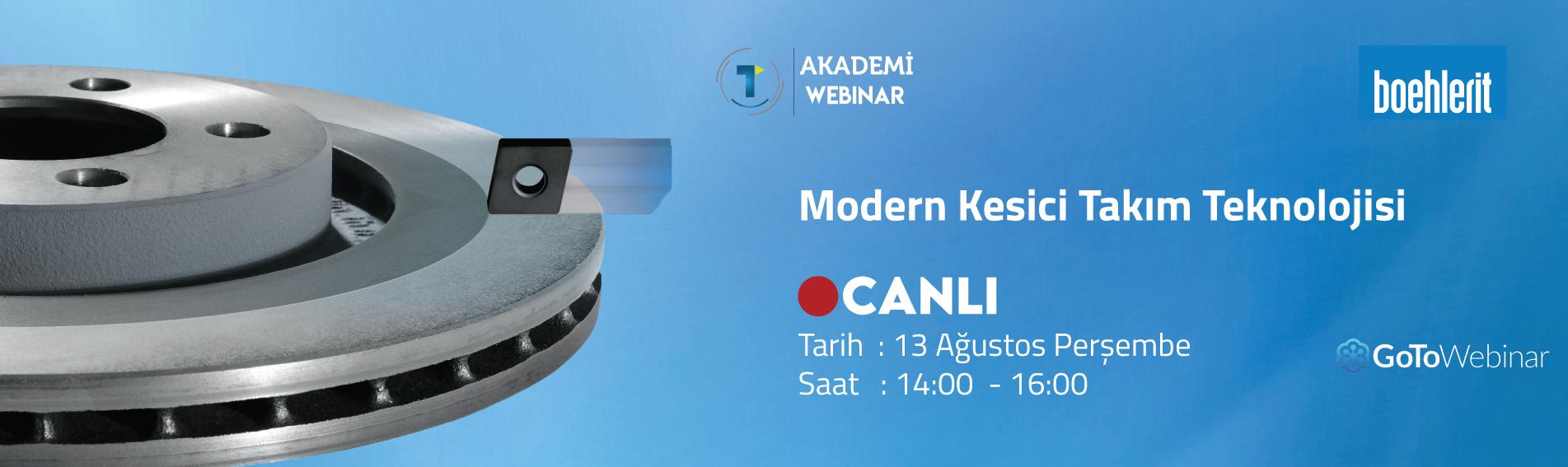 Modern Kesici Takım Teknolojisi 13 Ağustos
