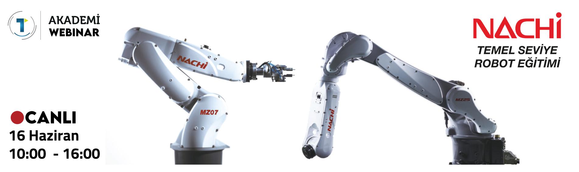NACHİ Temel Seviye Robot Eğitimimize